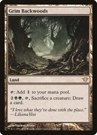 Grim Backwoods, Magic: The Gathering, Dark Ascension