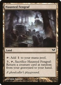 Haunted Fengraf, Magic: The Gathering, Dark Ascension