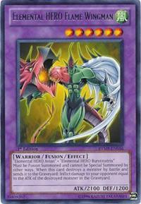 Elemental HERO Flame Wingman, YuGiOh, Ra Yellow Mega Pack