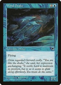 Wind Drake, Magic: The Gathering, Tempest
