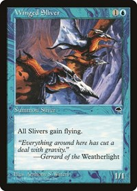 Winged Sliver, Magic, Tempest