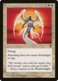 Archangel, Magic: The Gathering, Visions