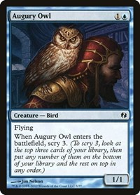 Augury Owl, Magic: The Gathering, Duel Decks: Venser vs. Koth