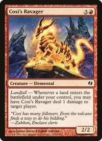 Cosi's Ravager, Magic: The Gathering, Duel Decks: Venser vs. Koth