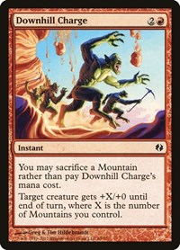 Downhill Charge, Magic: The Gathering, Duel Decks: Venser vs. Koth