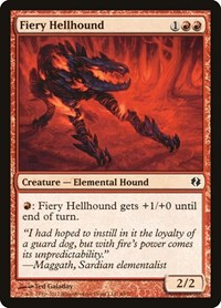 Fiery Hellhound, Magic: The Gathering, Duel Decks: Venser vs. Koth