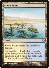 Flood Plain, Magic, Duel Decks: Venser vs. Koth
