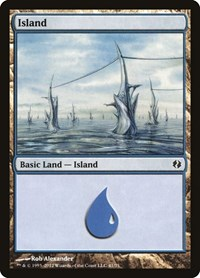 Island (41), Magic: The Gathering, Duel Decks: Venser vs. Koth