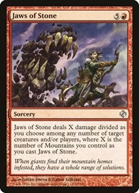 Jaws of Stone, Magic: The Gathering, Duel Decks: Venser vs. Koth