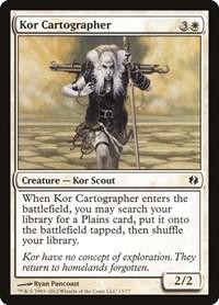 Kor Cartographer, Magic: The Gathering, Duel Decks: Venser vs. Koth