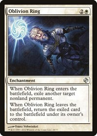 Oblivion Ring, Magic: The Gathering, Duel Decks: Venser vs. Koth