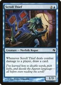 Scroll Thief, Magic, Duel Decks: Venser vs. Koth