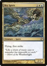 Sky Spirit, Magic: The Gathering, Duel Decks: Venser vs. Koth