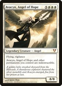 Avacyn, Angel of Hope, Magic: The Gathering, Avacyn Restored