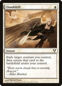 Cloudshift, Magic: The Gathering, Avacyn Restored