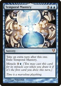 Temporal Mastery, Magic: The Gathering, Avacyn Restored