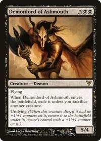 Demonlord of Ashmouth, Magic, Avacyn Restored