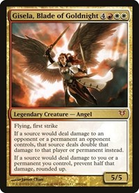Gisela, Blade of Goldnight, Magic: The Gathering, Avacyn Restored
