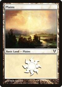 Plains (230), Magic: The Gathering, Avacyn Restored