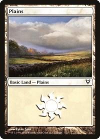 Plains (232), Magic: The Gathering, Avacyn Restored