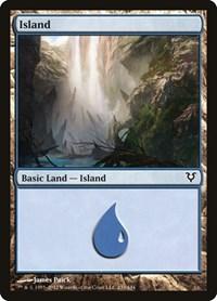 Island (233), Magic: The Gathering, Avacyn Restored