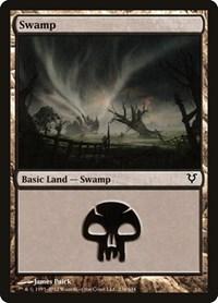 Swamp (236), Magic: The Gathering, Avacyn Restored