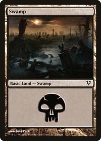 Swamp (238), Magic: The Gathering, Avacyn Restored