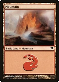 Mountain (240), Magic: The Gathering, Avacyn Restored