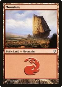 Mountain (241), Magic: The Gathering, Avacyn Restored