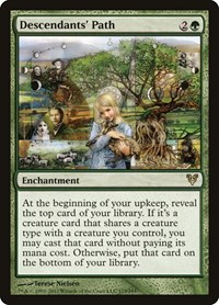 Descendants' Path (Foil)