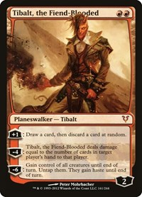 Tibalt, the Fiend-Blooded, Magic: The Gathering, Avacyn Restored