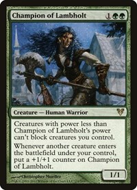 Champion of Lambholt (Foil)