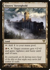 Slayers' Stronghold, Magic: The Gathering, Avacyn Restored