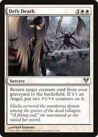 Defy Death, Magic, Avacyn Restored