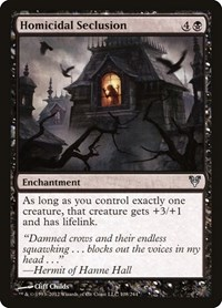 Homicidal Seclusion, Magic: The Gathering, Avacyn Restored