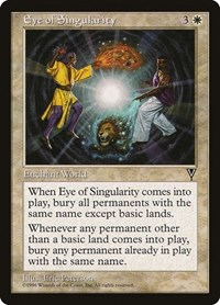 Eye of Singularity, Magic: The Gathering, Visions