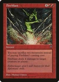Fireblast, Magic: The Gathering, Visions