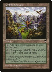 Griffin Canyon, Magic: The Gathering, Visions