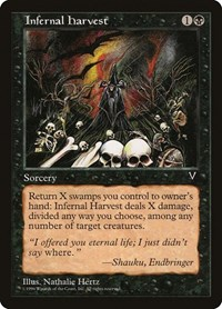 Infernal Harvest, Magic: The Gathering, Visions