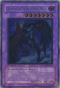 Yugioh Elemental Hero Dark Neos DP03-EN014 NM//MINT Super Rare 1st Edition