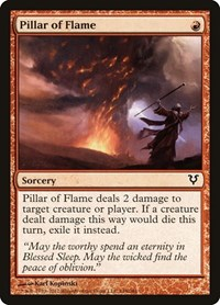 Pillar of Flame, Magic, Avacyn Restored