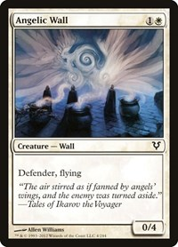 Angelic Wall, Magic: The Gathering, Avacyn Restored