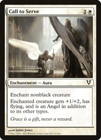 Call to Serve, Magic: The Gathering, Avacyn Restored