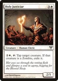Holy Justiciar, Magic: The Gathering, Avacyn Restored