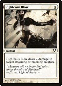 Righteous Blow, Magic, Avacyn Restored