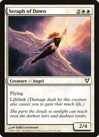 Seraph of Dawn, Magic: The Gathering, Avacyn Restored