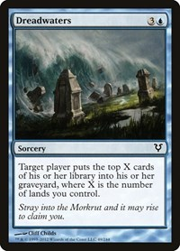 Dreadwaters, Magic: The Gathering, Avacyn Restored