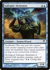 Galvanic Alchemist, Magic: The Gathering, Avacyn Restored