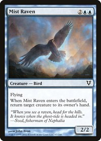 Mist Raven, Magic: The Gathering, Avacyn Restored
