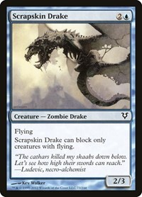Scrapskin Drake, Magic: The Gathering, Avacyn Restored
